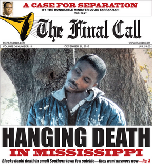 Blacks doubt death in small Southern town is a suicide–they want answers now
